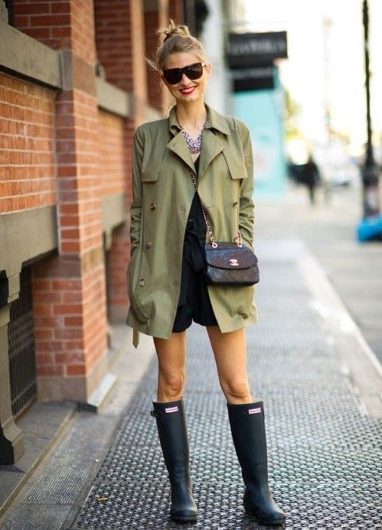 5 Ways To Syle Your Hunter Boots