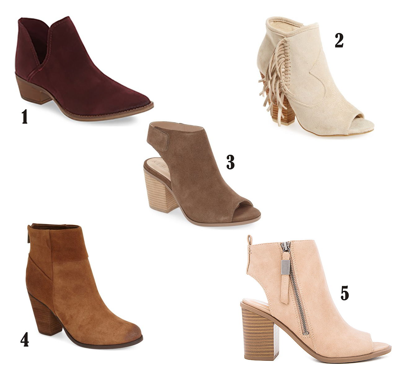 Fall Booties All Under $100