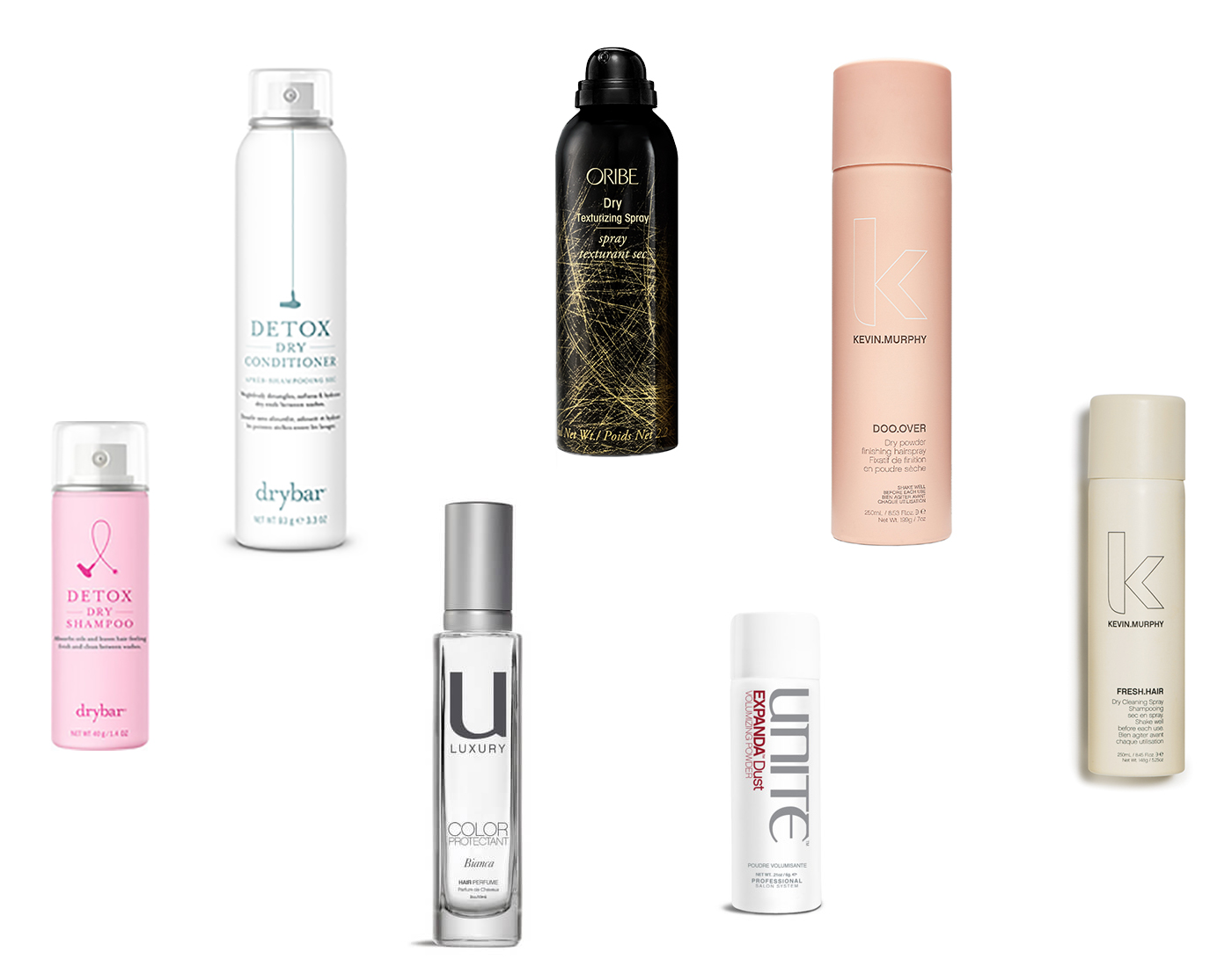 Seven Products To Keep Your Hair Looking Fresh All Week Long.