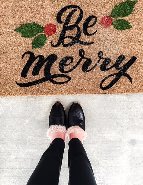 Be Merry With Fur-Lined Mules