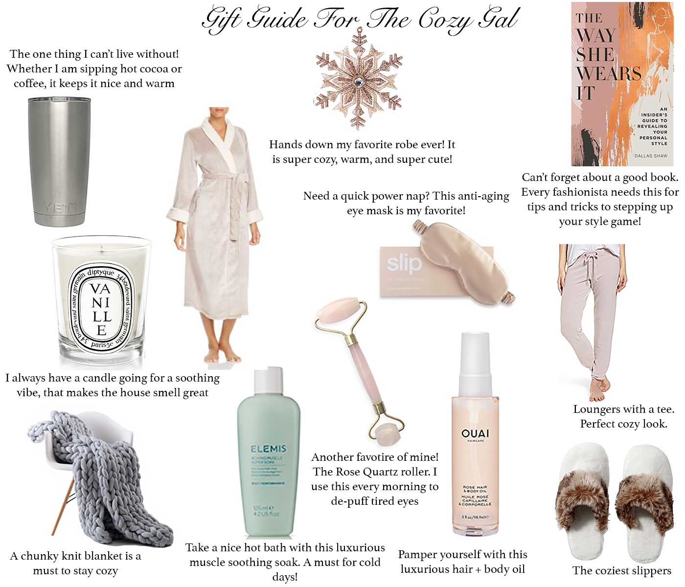 Gift Guide For The Cozy Gal