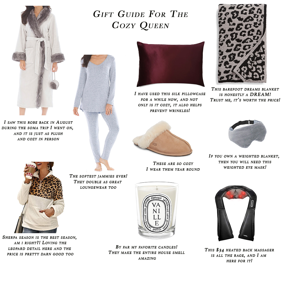 Gift Guide For The Cozy Queen